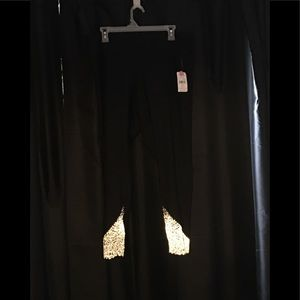 New black leggings size XXL